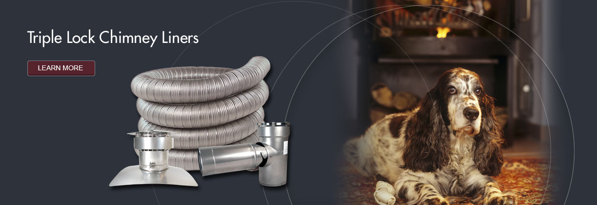 Triple Lock Chimney Liners