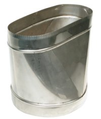 Oval To Round Adapter Z Flex 174 Chimney Liner System All