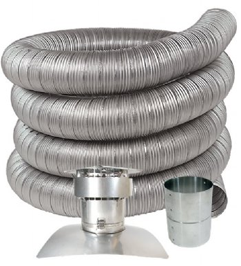 sc 1 st  Z-flex & Stainless Steel Chimney Liner Kits For Oil Gas u0026 Pellet Stoves